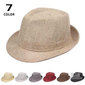 中折れ帽 メンズ 帽子 中折れ ハット 日よけ帽子 紫外線対策 おしゃれ 北欧風 紳士 カジュアル アウトドア|seki
