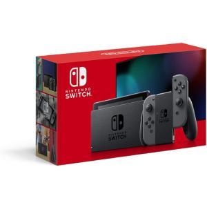 【新品】Nintendo Switch 本体 (ニンテンドースイッチ) Joy-Con(L)/(R) グレー|sekibunkan