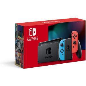 【新品】Nintendo Switch 本体 (ニンテンドースイッチ) Joy-Con(L) ネオンブルー/(R) ネオンレッド|sekibunkan