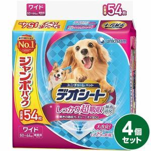ユニ・チャーム デオシート ジャンボパック ワイド 54枚 4個セット sekichu