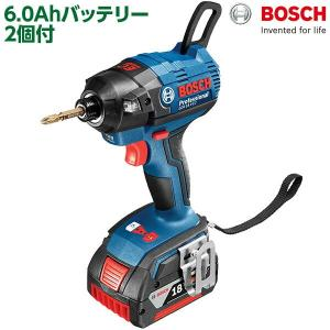 ボッシュ BOSCH プロ用バッテリーインパクト ブラシレス 6.0Ah+6.0Ah GDR18V-EC6 【基本送料無料】 sekichu