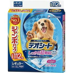 ユニ・チャーム デオシート ジャンボパック レギュラー 112枚 sekichu