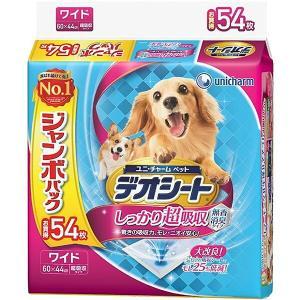 ユニ・チャーム デオシート ジャンボパック ワイド 54枚 sekichu