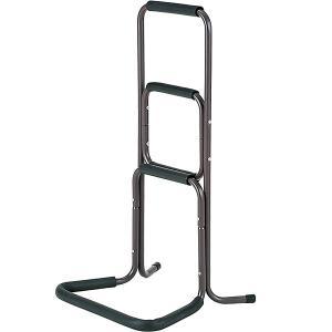 楽々立ち上がり杖 強化フレーム 約43×39×81cm ブラウン RK-TT43BR-N