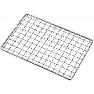 カマド スマートグリル B6型の専用網です。  サイズ(約):163×108mm 材質:鉄(クロムめ...