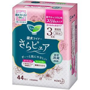 花王 ロリエさらピュア スリムタイプ 3cc 緑茶消臭 44枚|sekichu