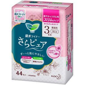 花王 ロリエさらピュア スリムタイプ 3cc パウダリーフラワーの香り 44枚|sekichu