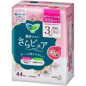 花王 ロリエさらピュア スリムタイプ 3cc ローズガーデンの香り 44枚|sekichu