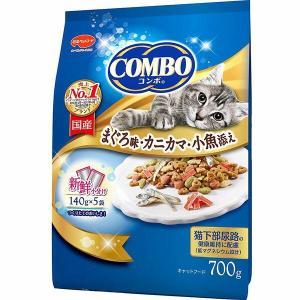 コンボ まぐろ味・カニカマ・小魚添え 700g|sekichu