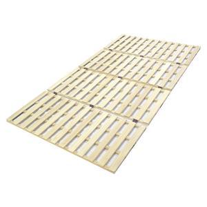 直送 代引/日時指定不可 大竹産業 ロングタイプ 桐 すのこ ベッド セミダブル 幅120×長さ210cm OSR-022|sekichu