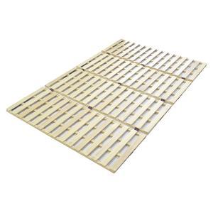 1月下旬入荷予定 直送 代引/日時指定不可 大竹産業 ロングタイプ 桐 すのこ ベッド ダブル 幅140×長さ210cm OSR-023|sekichu