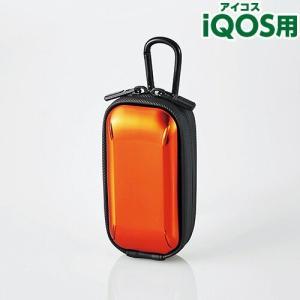 エレコム iQOS アイコス用ハードケース オレンジ ET-IQHC1DR sekichu