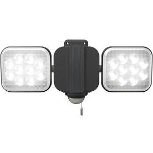 ムサシ RITEX 12W×2灯 フリーアーム式LEDセンサーライト LED-AC2024