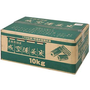 カワセ バンドック BUNDOK 業務用 成型備長炭(オガ炭)10kg BD-361