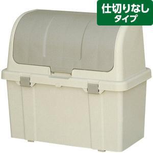 リッチェル 屋外ストッカー N220C グレー 収納/屋外用ゴミ箱/ベランダ|sekichu