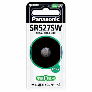 Panasonic 酸化銀電池 SR527SW sekichu