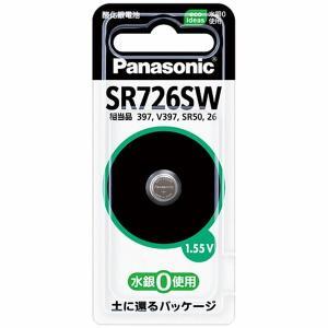 Panasonic 酸化銀電池 SR726SW sekichu