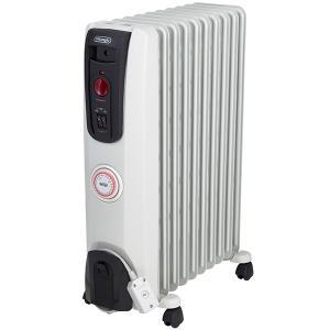 空気を汚さず乾燥しにくい 温風を出さずにじっくりお部屋を暖めるオイルヒーター1500Wモデル。 約8...