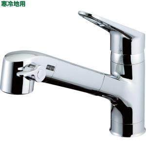 INAX 浄水器内蔵シングルレバー混合水栓 寒冷地用 RJF-771YN 基本送料無料 sekichu