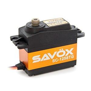 SAVOX SC-1258TG 超高速・高耐久性・コアレス デジタルサーボ【サボックス日本総代理店】