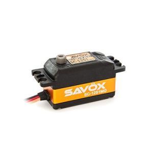 SAVOX SC-1251MG 最高品質・高速・コアレス デジタルサーボ【サボックス日本総代理店】
