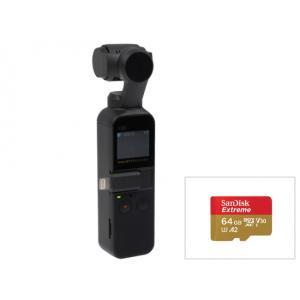 ●DJI Osmo Pocket × 1 ●SanDisk Extreme microSDXCカード...