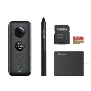 【Insta360 ONE X 製品紹介】 Insta360 ONE Xは画期的な手ブレ補正を搭載し...