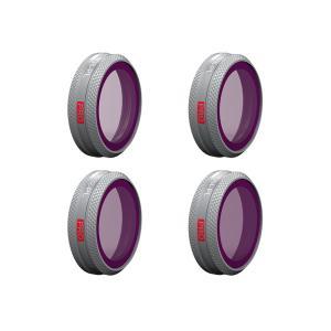 PGYTECH  MAVIC 2 用 ZOOM用 レンズフィルター(PRO) [ND4枚セット PR...