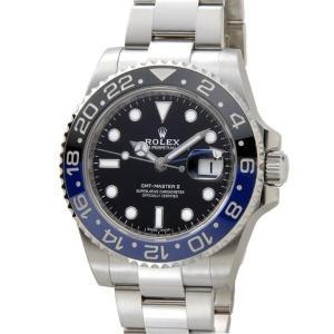 ROLEX ロレックス GMTマスターII 116710BL...