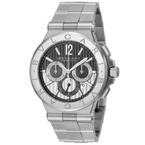 ブルガリ 腕時計 BVLGARI メンズ ディアゴノ カリブロ303 DG42BSSDCH|sekido