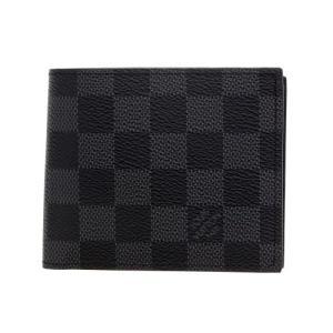ルイヴィトン LOUIS VUITTON 二つ折り財布 N63336 ダミエグラフィット ポルトフォイユ・マルコNM|sekido