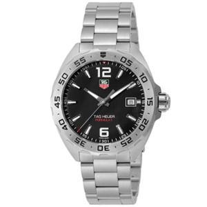 TAG Heuer タグホイヤー 腕時計 メンズ フォーミュラ1 ブラック WAZ1112.BA08...