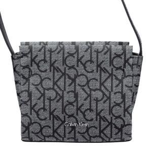 Calvin Klein カルバンクライン ショルダーバッグ レディース ブラック/ホワイト K60K603481 005 spic|sekido