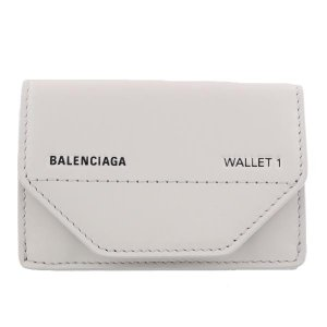 バレンシアガ 二つ折り財布 メンズ グレー 529098 0ST2N 1260
