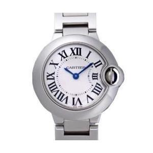 Cartier カルティエ W69010Z4 バロンブルー SM  シルバー レディース|sekido
