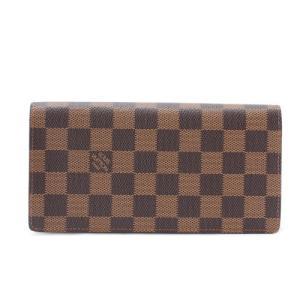 ルイヴィトン 財布 LOUIS VUITTON N60017 ダミエ ポルトフォイユ・ブラザ|sekido