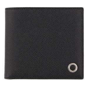 BVLGARI ブルガリ 二つ折り財布 ブラック メンズ ブルガリ ブルガリ 30396 BLACK