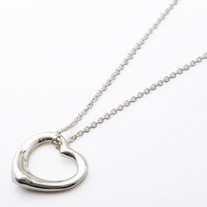 ティファニー ネックレス Tiffany&Co. ネックレス オープンハート MA ミディアムサイズ ペンダント 10660084|sekido