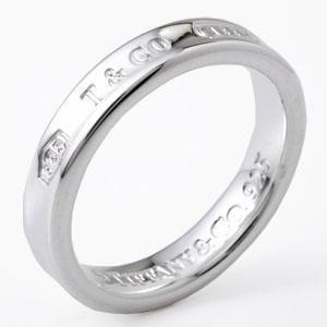 Tiffany&Co. ティファニー 1837 ナロー リング 4MM 9号 22993755