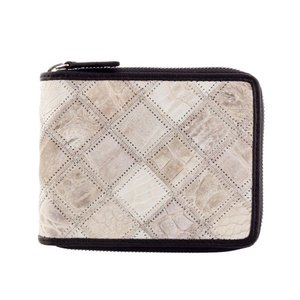 adf0c213440b RODANIA ロダニア コンパクト財布 レディース メンズ クロコダイル ホワイト OKUC15830 HM