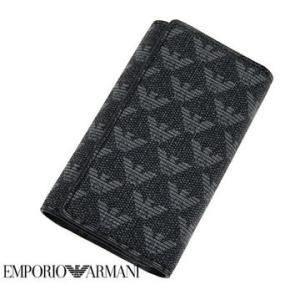 EMPORIO ARMANI  エンポリオアルマーニ 6連キーケース ラヴァーニャ/ブラック Y4R068 YO23J 86526 sekine