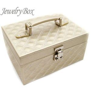 ジュエリーボックス JewelryBox キルティング 宝石箱 JB-9100 シャンパンゴールド|sekine