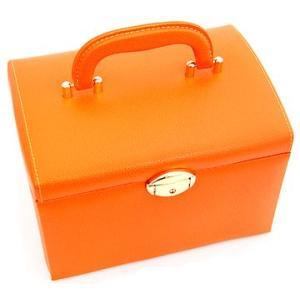 ジュエリーボックス JewelryBox 宝石箱 JB-8200 オレンジ×ゴールド|sekine