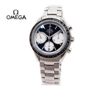OMEGA オメガ メンズ 腕時計 スピードマスター レーシング クロノグラフ コーアクシャル 40MM ×ブラック×シルバー 326.30.40.50.01.002|sekine