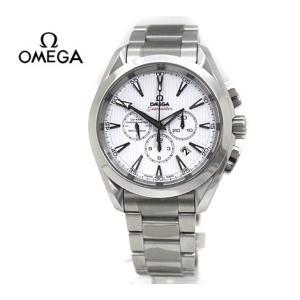 OMEGA  オメガ メンズ 腕時計 自動巻き シーマスター アクアテラ 150m コーアクシャル クロノグラフ 44mm ホワイト×シルバー 231.10.44.50.04.001|sekine