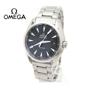 OMEGA オメガ メンズ 腕時計  シーマスター アクアテラ クォーツ グレー×シルバー 231.10.39.60.06.001|sekine