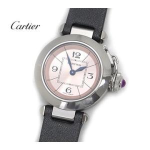 Cartier  カルティエ レディス クォーツ 腕時計 ミ...
