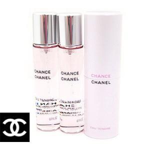 CHANEL シャネル ツイスト&スプレイ 香水 チャンス オー タンドゥル オードゥ トワレット トラベルスプレイ&2リフィル 3×20ml|sekine