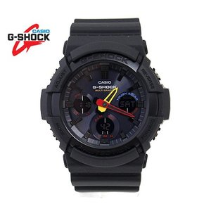 CASIO G-SHOCK GAW-100BMC-1AJF カシオ 腕時計 ソーラー電波 デジタルアナログ マルチバンド6 Black × Neon ブラック|sekine