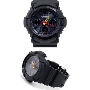 CASIO G-SHOCK GAW-100BMC-1AJF カシオ 腕時計 ソーラー電波 デジタルアナログ マルチバンド6 Black × Neon ブラック|sekine|02